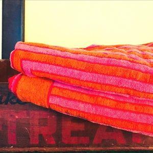 vintage Yves Saint Laurent towels